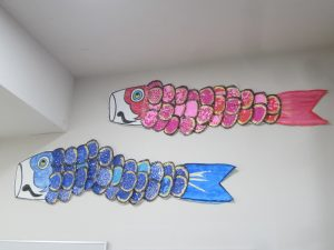 なかなか技ありの3D鯉のぼり